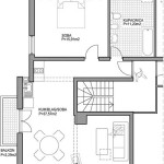 Apartments Novalja - Villa Margareta - Beige Apartment Floorplan